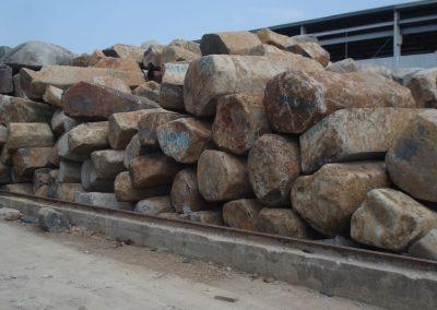 Blocchi di basalto vietnamita