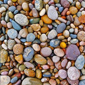 Pietre di fiume Granulati, ciottoli, rocce decorative