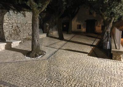Pavimento in cubetti di Trani